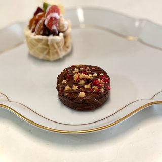 生チョコクッキー(モンブラン)