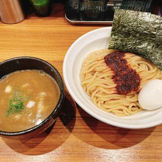 辛い煮干しつけ麺(井さい)