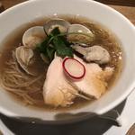 蛤と牡蠣 醤油SOBA