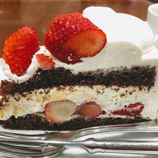 ストロベリーチョコレートケーキ(ハーブス ルミネエスト新宿店 (HARBS))