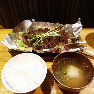 サガリ定食(鉄板屋 いっちゃん)