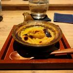 下仁田葱と雲丹の味噌グラタン