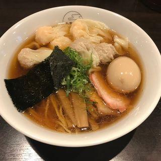 特製ワンタン麺 白だし(八雲)