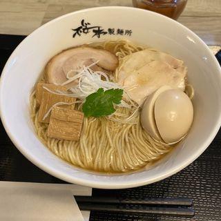 味玉中華そば醤油(桜木製麺所)