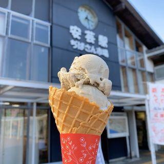 焼きナスのアイス
