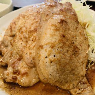 豚ロース生姜焼(さくら食堂)