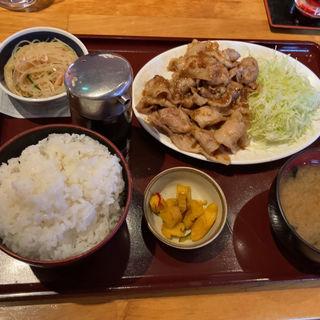 生姜焼き定食(とちぎや )
