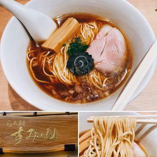 鯵煮干そば(らぁ麺すみ田)