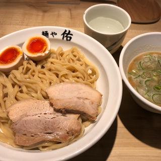 鶏豚つけめん 味玉入り(麺や佑 )