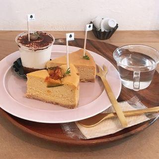 かぼちゃのチーズケーキ(anzu to momo)