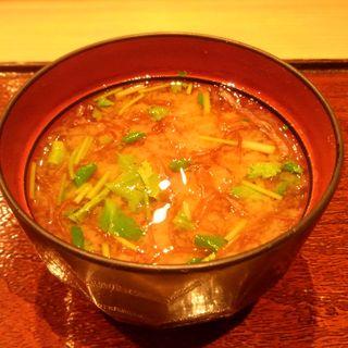 味噌汁(鮨 石島 )