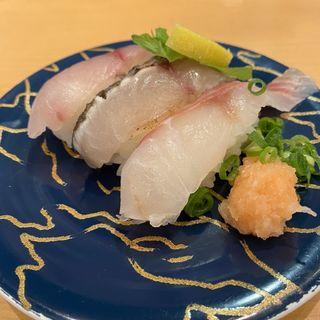 天然魚三種(大起水産回転寿司 兵庫川西店 (だいきすいさん))