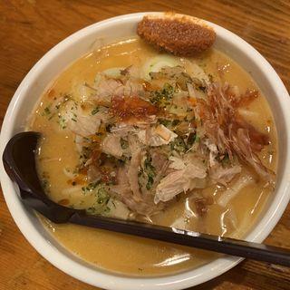 味噌ラーメン(ふろ屋)