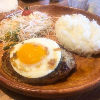 エッグバーグディッシュ(びっくりドンキー 立川砂川店 )