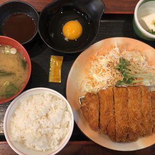 とんかつ定食(街かど屋 阿倍野店 )