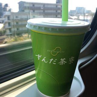 ずんだシェイク(ずんだ茶寮 仙台駅西口店 (ずんださりょう))