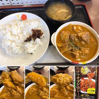 マッサマンカレー(松屋 小滝橋通り店 (オタキバシドオリテン))