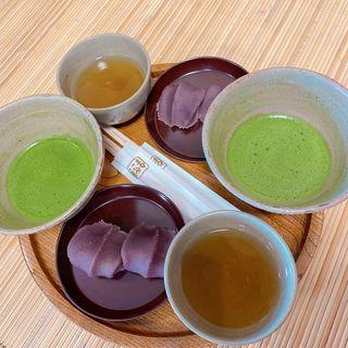 赤福餅 抹茶(赤福外宮前特設店)