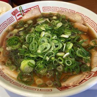 チャーシュー麺 醤油