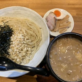 豚の頂きレットHOTチリ 3辛(つけ麺亭 日向)