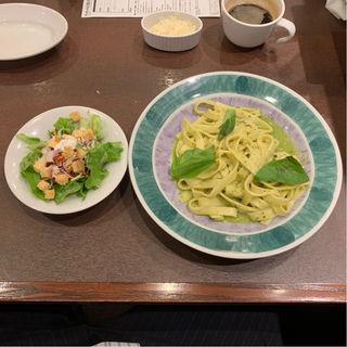 ランチセット ジェノベーゼ(鎌倉パスタ 仙台マーブルロード店)
