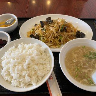 本日のランチ 春雨と挽肉煮込み(東幸飯店 (トウコウハンテン))