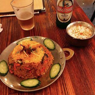チキンビリヤニ(インド食堂 ふたば)