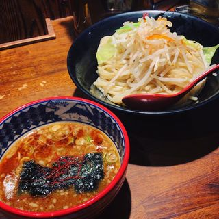 濃厚魚介味噌つけ麺(三田製麺所 虎ノ門店)