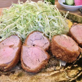 特選ひれかつ定食(とんかつひなた)