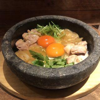 石焼親子丼(侘家古暦堂 祇園花見小路本店 (わびや これきどう))