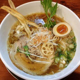 魚だしらぁ麺(ふじ門 製麺 )