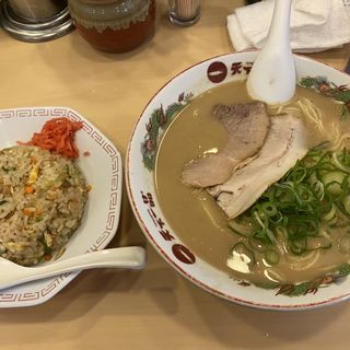 炒飯定食(天下一品 神田店 (てんかいっぴん))