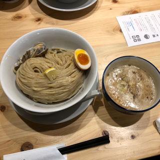 魚貝鶏白湯つけ麺
