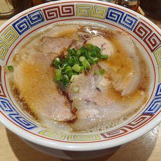 中華そば ポーク(カドヤ食堂 西梅田店)