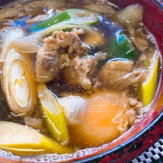 肉そば(星川製麺 彩)