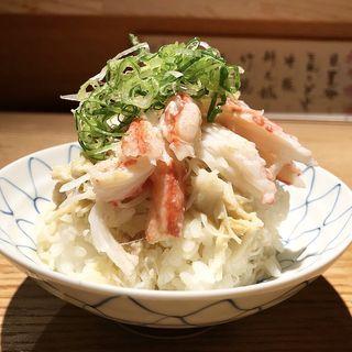かにちらし(魚とお酒 ごとし )