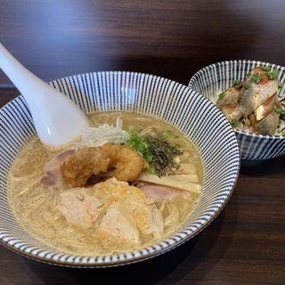 限定 鮟鱇ラーメン(寿製麺よしかわ 西台駅前店)