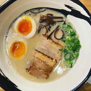 てっぺいラーメン(濃厚煮干とんこつラーメン 石田てっぺい )