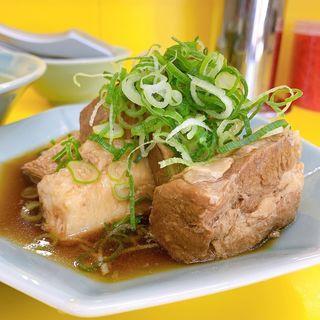 角煮ラーメン(角煮別皿仕様)(味心)
