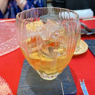 梅酒ロック (梅麟)(神戸 出汁 豚しゃぶ まん乃)