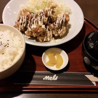 ケイジャンチキン定食(カフェメルス 尾張旭店 )