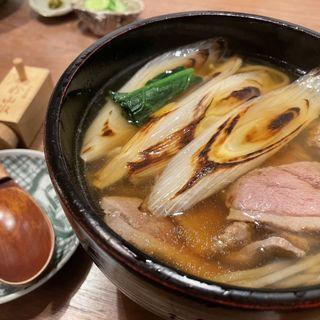 鴨南蕎麦(赤坂けやき通りむらた)