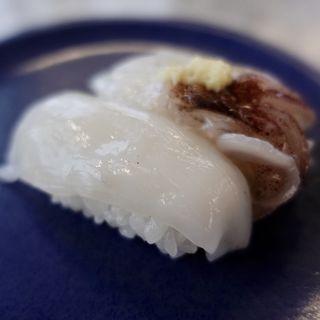 ヤリイカ姿にぎり(回転寿司 魚どんや (さかなどんや))