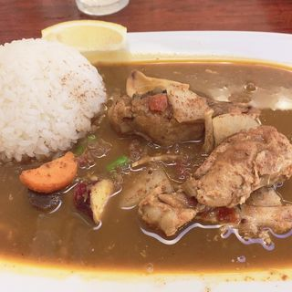 ミックスカレー(かえる食堂 (カエルショクドウ))