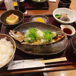 焼き鯖ネギポン酢