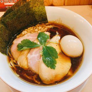 特製 醤油鶏そば(鶏そばムタヒロ 花小金井店)