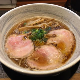 背脂魚介醤油(満麺の笑み)