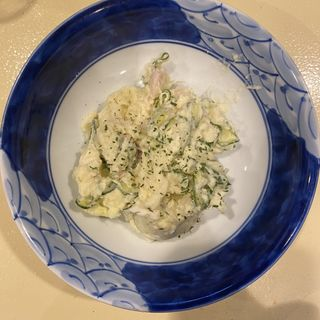 無化調 手作りポテサラ(麺や 流)