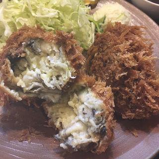 カキフライ定食(2個)(三友 )