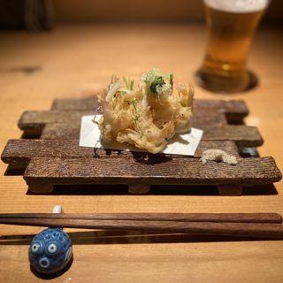 かき揚げ(魚輝 (ウオテル))